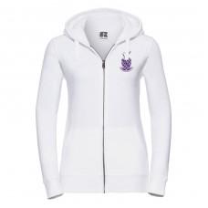 Zip Hooded Sweatshirt (women's fit)