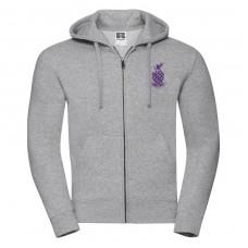 Zip Hooded Sweatshirt (men's fit)